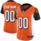 Cheap Nike Cincinnati Bengals Customized Orange Alternate Stitched Vapor Untouchable Limited Women's NFL Jersey