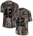 Cheap Nike Chiefs #42 Anthony Sherman Camo Youth Stitched NFL Limited Rush Realtree Jersey