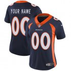 Cheap Nike Denver Broncos Customized Navy Blue Alternate Stitched Vapor Untouchable Limited Women's NFL Jersey