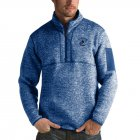 Cheap Vancouver Canucks Antigua Fortune Quarter-Zip Pullover Jacket Blue