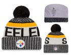 Cheap NFL Pittsburgh Steelers Logo Stitched Knit Beanies 010