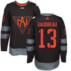 Cheap Team North America #13 Johnny Gaudreau Black 2016 World Cup Stitched NHL Jersey