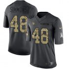 Cheap Nike Cardinals #48 Isaiah Simmons Black Youth Stitched NFL Limited 2016 Salute to Service Jersey