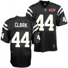 Cheap Colts #44 Dallas Clark Black Shadow With Super Bowl Patch Stitched NFL Jersey