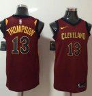 Cheap Nike Cleveland Cavaliers #13 Tristan Thompson Red NBA Swingman Icon Edition Jersey