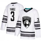 Cheap Adidas Panthers #3 Keith Yandle White Authentic 2019 All-Star Stitched Youth NHL Jersey