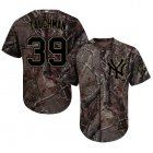 Cheap Yankees #39 Mike Tauchman Camo Realtree Collection Cool Base Stitched Youth MLB Jersey