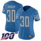 Cheap Nike Lions #23 Darius Slay Jr Royal Women's Stitched NFL Limited NFC 2019 Pro Bowl Jersey