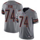 Cheap Nike Bears #74 Germain Ifedi Silver Youth Stitched NFL Limited Inverted Legend Jersey
