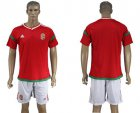 Cheap Hungary Blank Home Soccer Country Jersey