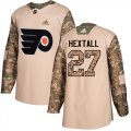 Cheap Adidas Flyers #27 Ron Hextall Camo Authentic 2017 Veterans Day Stitched Youth NHL Jersey