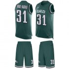 Cheap Nike Eagles #31 Nickell Robey-Coleman Green Team Color Men's Stitched NFL Limited Tank Top Suit Jersey
