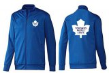 Cheap NHL Toronto Maple Leafs Zip Jackets Blue-2