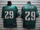 Cheap Eagles #29 Nathaniel Allen Green Stitched NFL Jersey