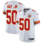Cheap Nike Chiefs #50 Willie Gay Jr. White Youth Stitched NFL Vapor Untouchable Limited Jersey