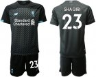 Cheap Liverpool #23 Shaqiri Third Soccer Club Jersey