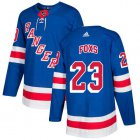 Cheap Adidas Rangers #23 Adam Foxs Royal Blue Home Authentic Stitched NHL Jersey