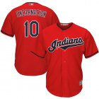 Cheap Indians #10 Edwin Encarnacion Red Stitched Youth MLB Jersey