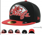 Cheap Kansas City Chiefs fitted hats 07