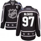 Cheap Oilers #97 Connor McDavid Black 2017 All-Star Pacific Division Stitched Youth NHL Jersey
