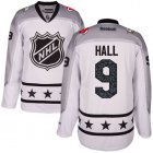 Cheap Devils #9 Taylor Hall White 2017 All-Star Metropolitan Division Stitched Youth NHL Jersey