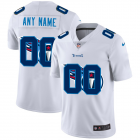 Cheap Tennessee Titans Custom White Men's Nike Team Logo Dual Overlap Limited NFL Jersey