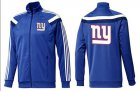 Cheap NFL New York Giants Team Logo Jacket Blue_6