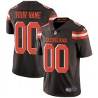 Cheap Nike Cleveland Browns Customized Brown Team Color Stitched Vapor Untouchable Limited Men's NFL Jersey