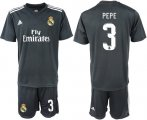 Cheap Real Madrid #3 Pepe Away Soccer Club Jersey