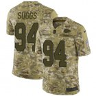Cheap Nike Chiefs #14 Sammy Watkins Olive/Camo Youth Stitched NFL Limited 2017 Salute to Service Jersey
