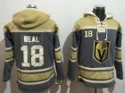 Cheap Golden Knights #18 James Neal Grey Sawyer Hooded NHL Sweatshirt