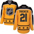Cheap Panthers #21 Vincent Trocheck Yellow 2017 All-Star Atlantic Division Stitched Youth NHL Jersey