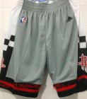 Cheap Men's Houston Rockets Gray Basketball Shorts