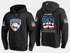 Cheap Panthers #88 Jamie Mcginn NHL Banner Wave Usa Flag Black Hoodie