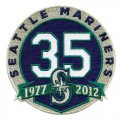 Cheap Stitched Seattle Mariners 35th Anniversary Jersey Patch