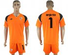 Cheap Sevilla #1 Sergio Rico Orange Goalkeeper Soccer Club Jersey