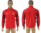 Cheap Portugal Soccer Jackets Red