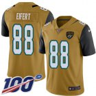 Cheap Nike Jaguars #88 Tyler Eifert Gold Youth Stitched NFL Limited Rush 100th Season Jersey