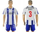 Cheap Oporto #3 Sergio Home Soccer Club Jersey