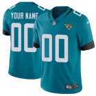 Cheap Nike Jacksonville Jaguars Customized Teal Green Team Color Stitched Vapor Untouchable Limited Men's NFL Jersey
