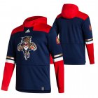 Cheap Florida Panthers Blank Adidas Reverse Retro Pullover Hoodie Navy