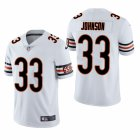 Cheap Men's Chicago Bears #33 Jaylon Johnson White Vapor Limited Throwback 2020 NFL Draft Jersey
