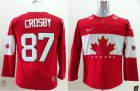 Cheap Team Canada 2014 Olympic #87 Sidney Crosby Red Stitched Youth NHL Jersey