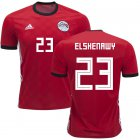 Cheap Egypt #23 Elshenawy Red Home Soccer Country Jersey