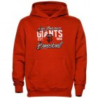 Cheap San Francisco Giants Script MLB Pullover Orange MLB Hoodie