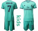 Cheap Real Madrid #8 Kroos Third Kid Soccer Club Jersey