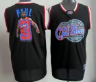 Cheap Los Angeles Clippers #3 Chris Paul Black Notorious Fashion Jersey