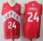 Cheap Raptors #24 Norman Powell Red Basketball Swingman Earned Edition Jersey