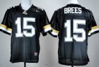Cheap PPurdue Boilermakers #15 Drew Brees Black Jersey