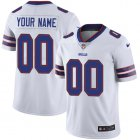 Cheap Nike Buffalo Bills Customized White Stitched Vapor Untouchable Limited Men's NFL Jersey